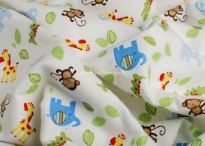 Reactive Printing Flannel Fabric (7)